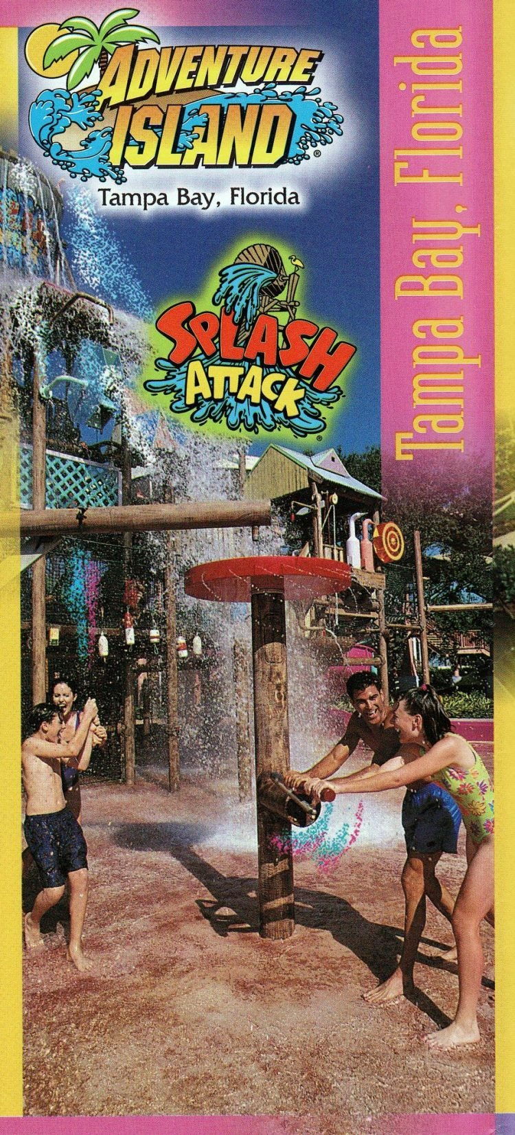 Vintage Busch Gardens in the 1990s - 1999 (1)