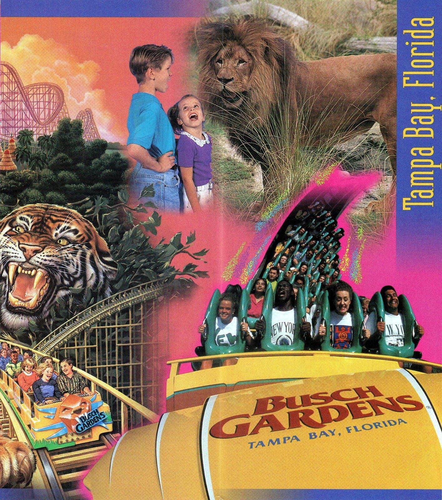 Vintage Busch Gardens in the 1990s - 1999 (2)