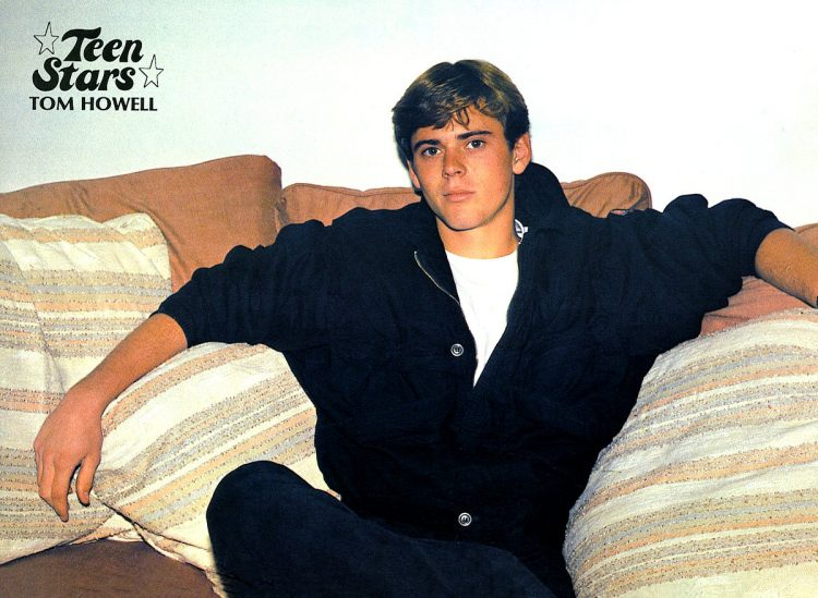Vintage C Thomas Howell photo