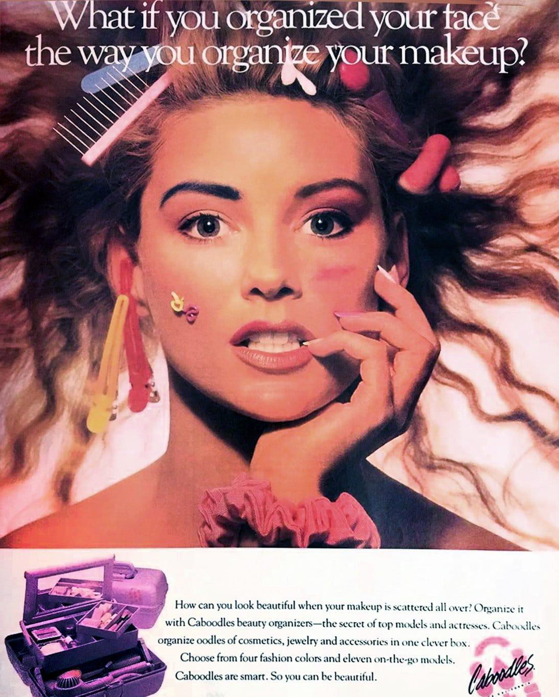Vintage Caboodles ad (1980s)