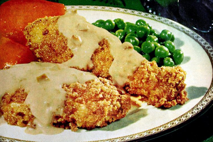 Vintage Campbell's chicken crunch recipe