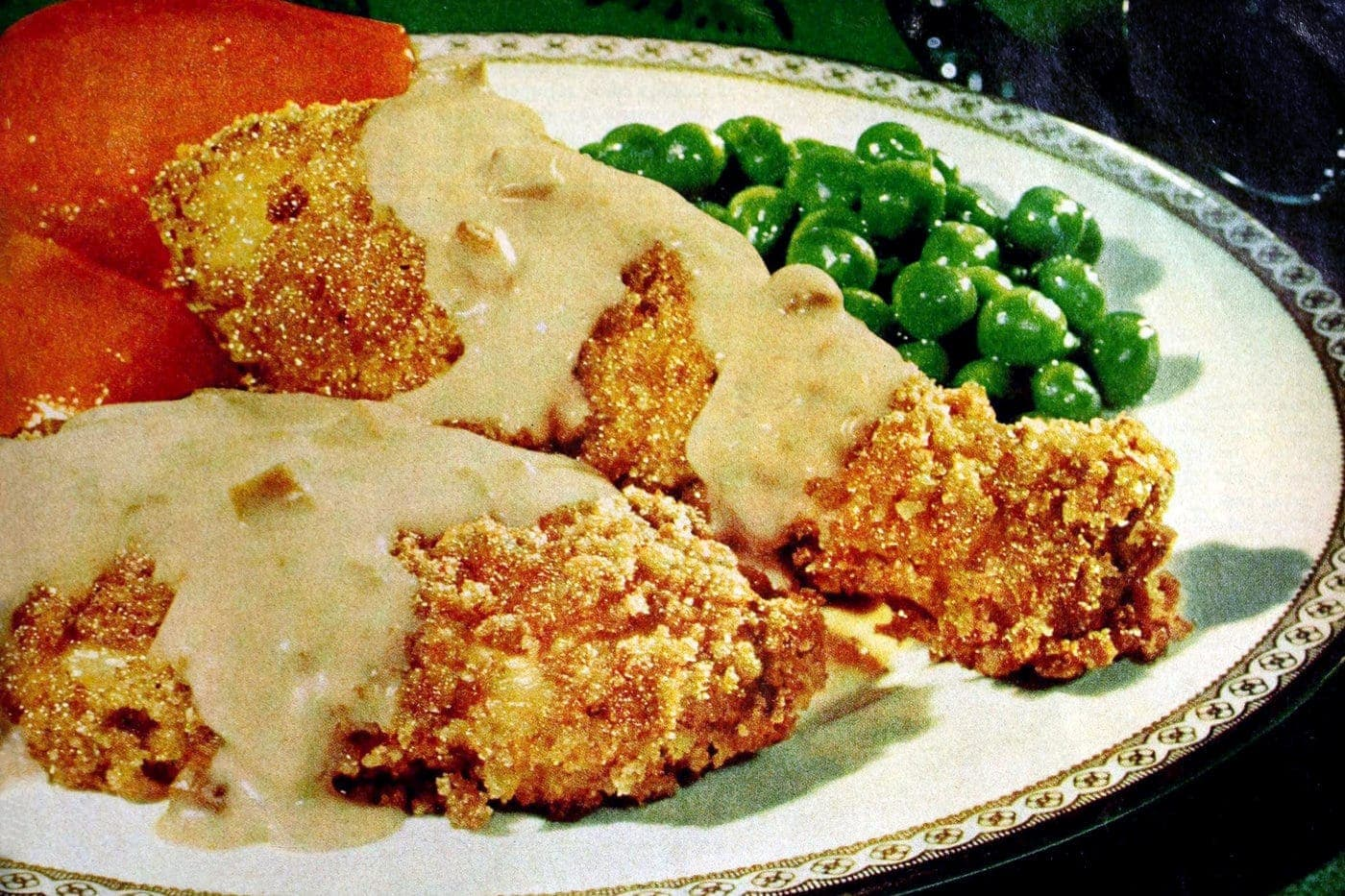 Vintage Campbell's chicken crunch recipe
