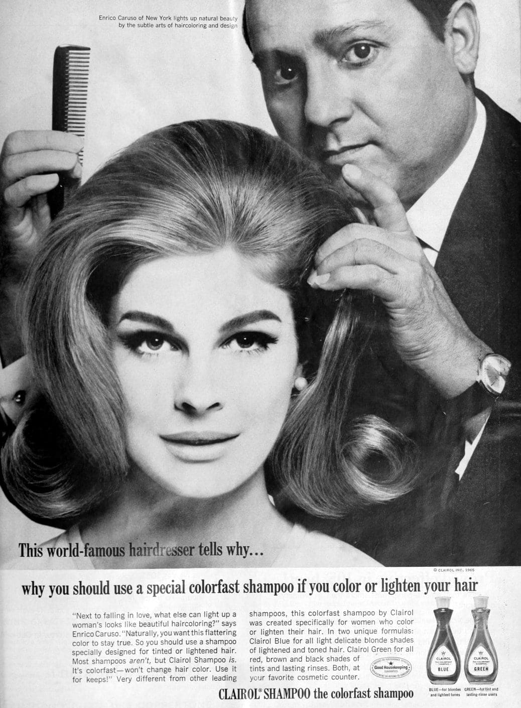 Vintage Candice Bergen for Clairol Shampoo (1965)