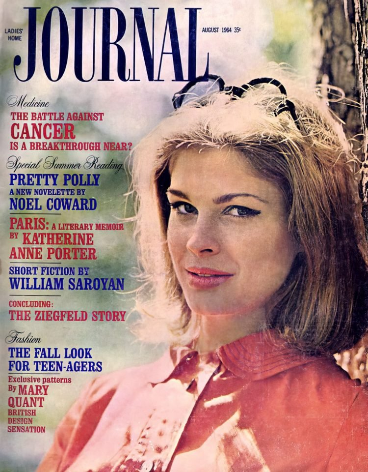 Candice Bergen on the cover of vintage '60s Ladies Home Journal (1964)