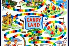 Vintage Candy Land game c1950s-1960s