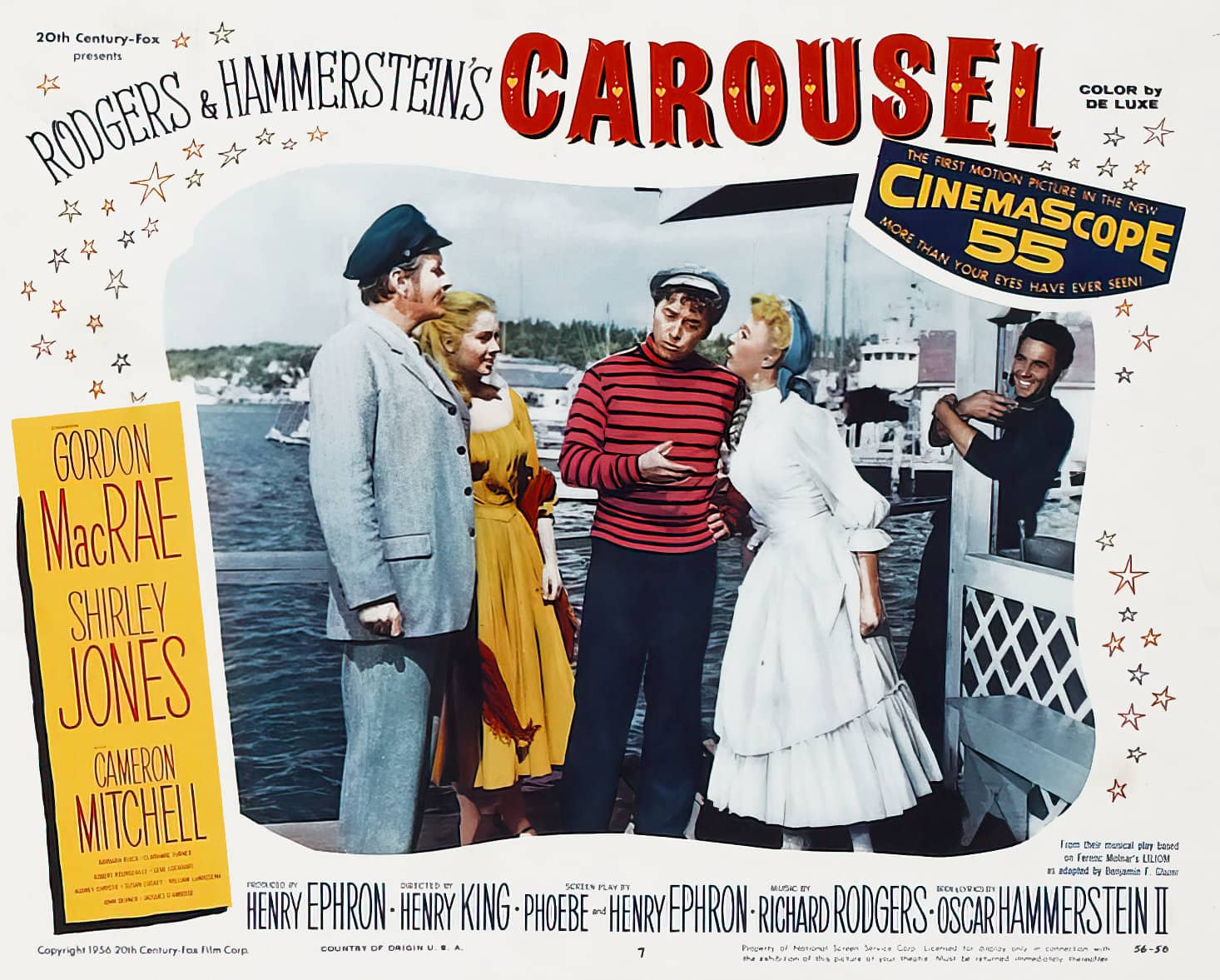 Vintage Carousel movie lobby card - 1950s (3)
