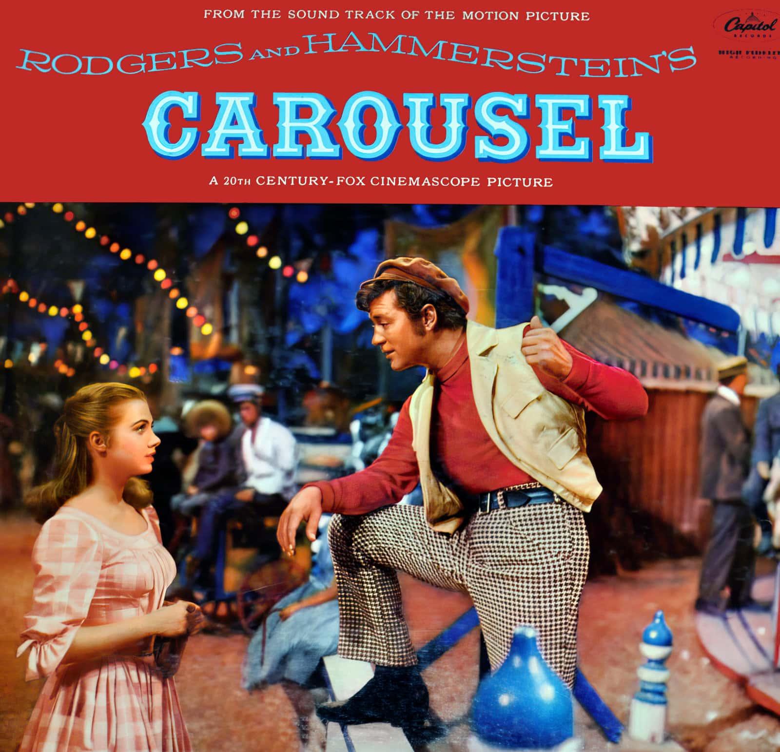 Vintage Carousel movie soundtrack cover (1950s)