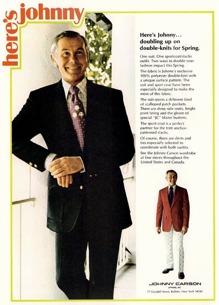 Vintage Carson suits - Doubleknit spring