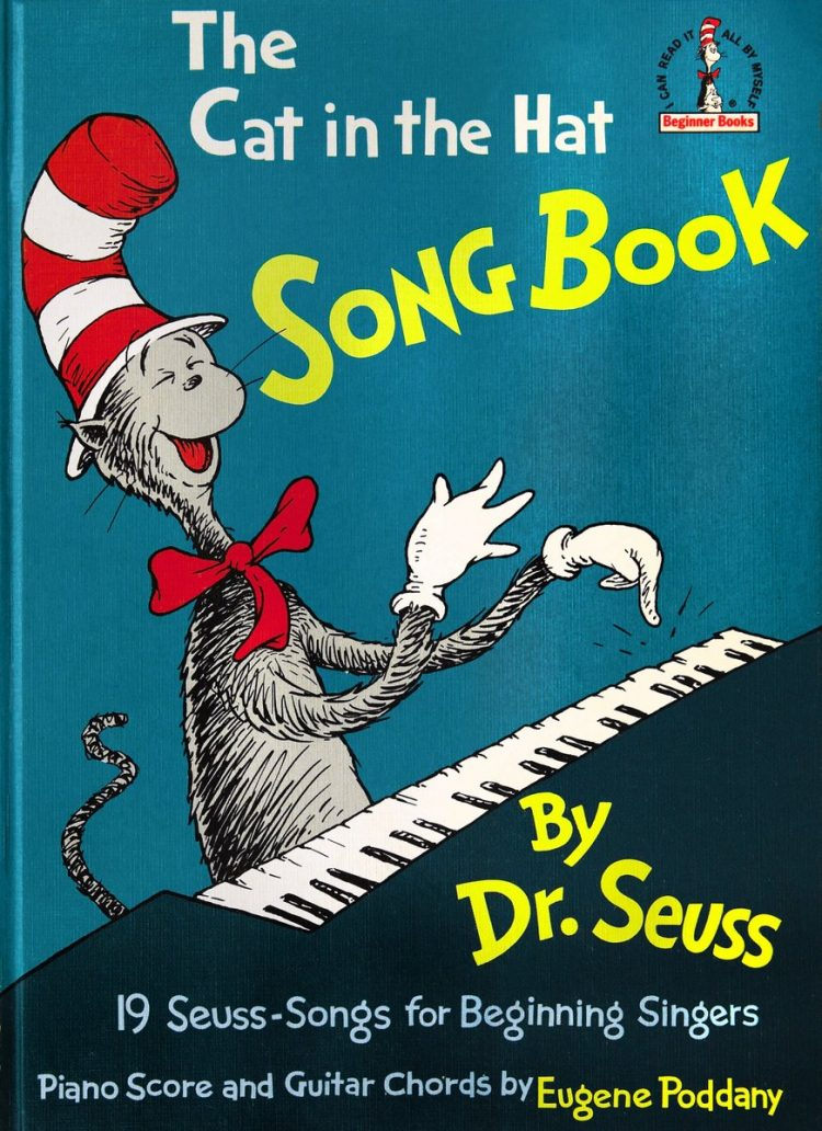 Vintage Cat in the Hat Song Book - Dr Seuss