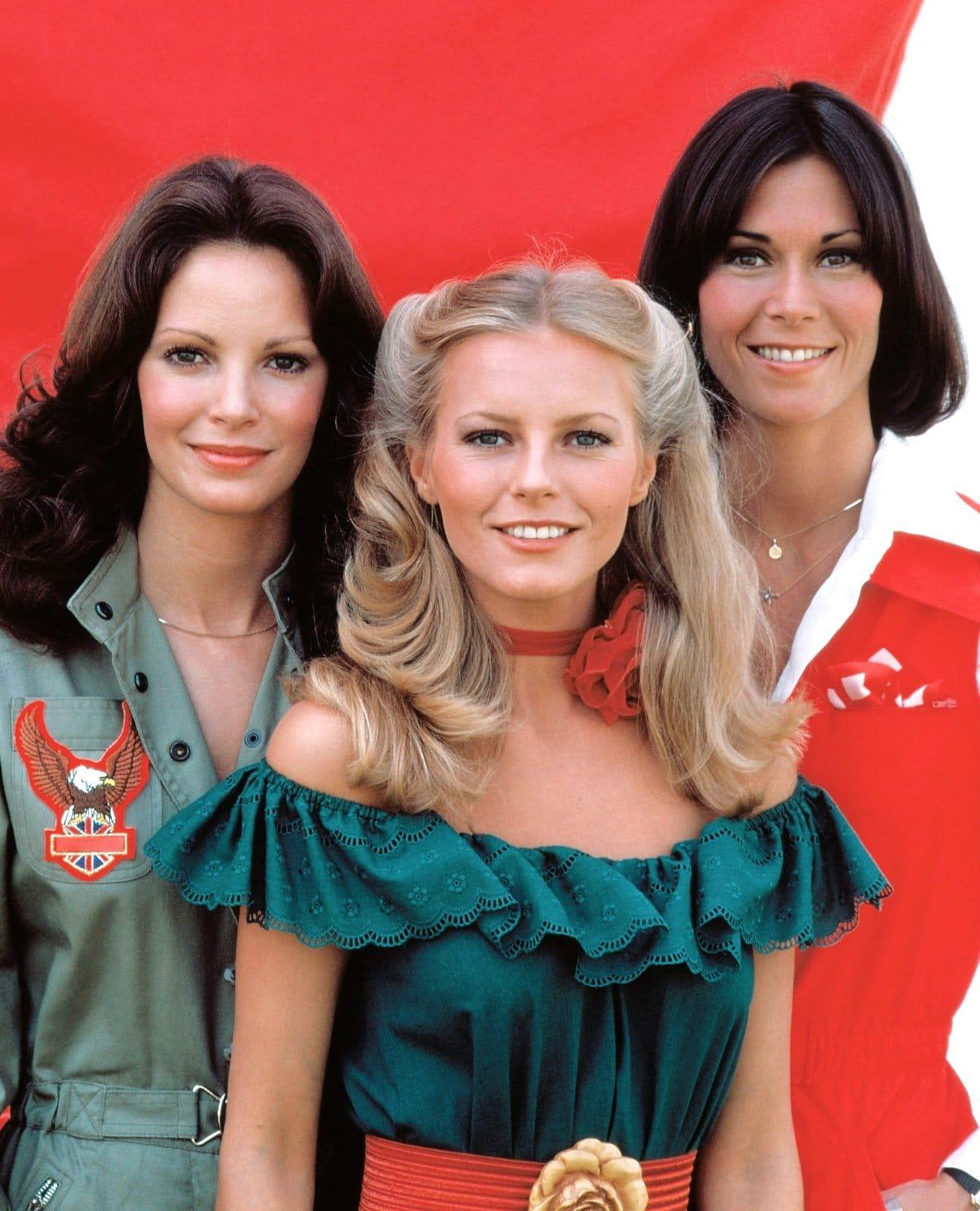 Vintage Charlie's Angels main cast members - late 1970s