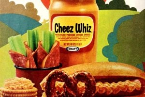 Vintage Cheez Whiz recipes