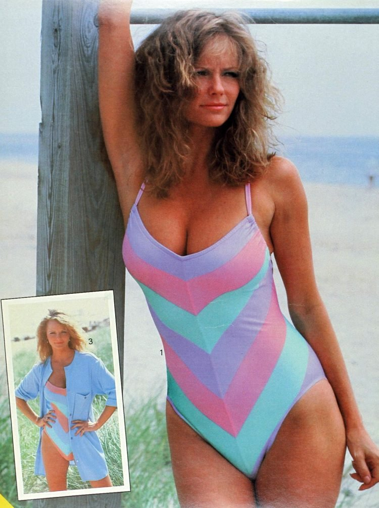 Vintage Cheryl Tiegs swimwear line for Sears 1983 (2)