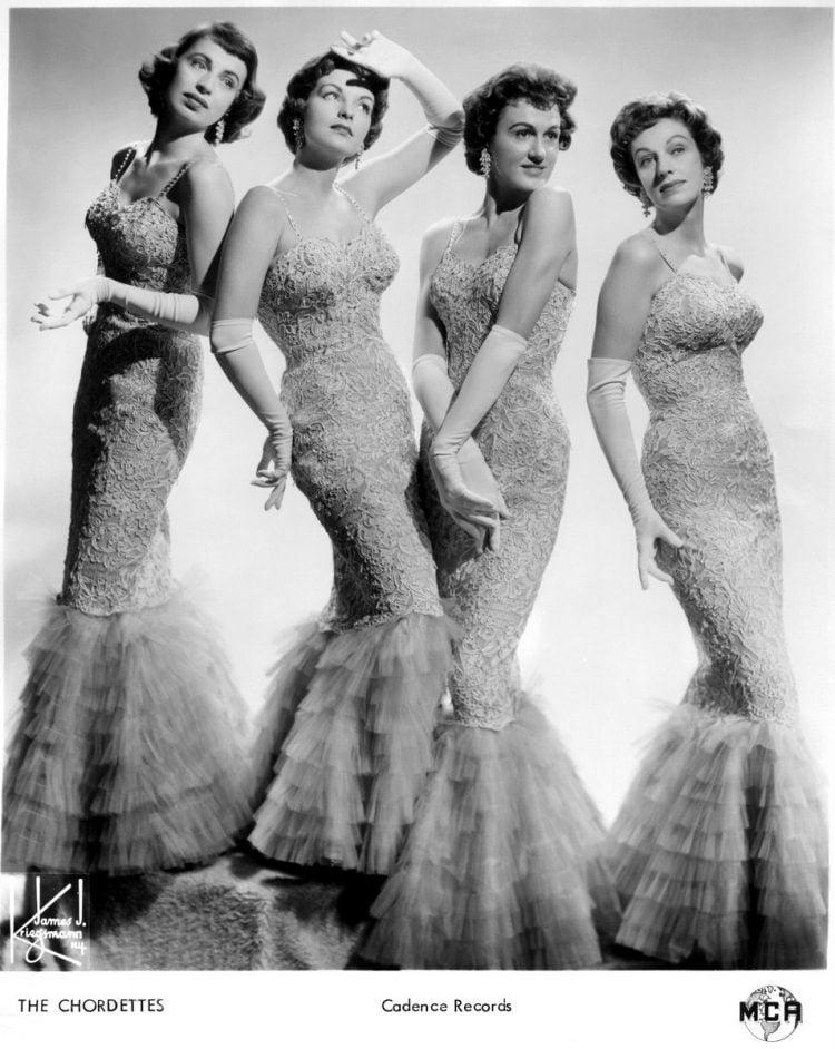 Vintage Chordettes PR photo