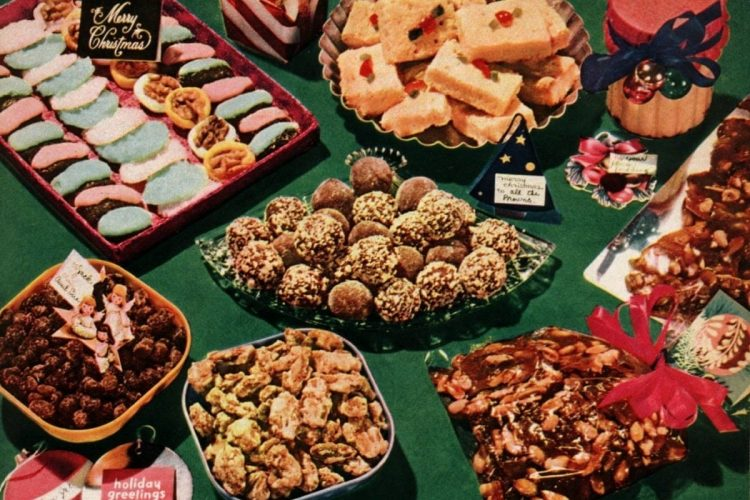 A Collection Of Classic Christmas Cookies Treats 1950s Click