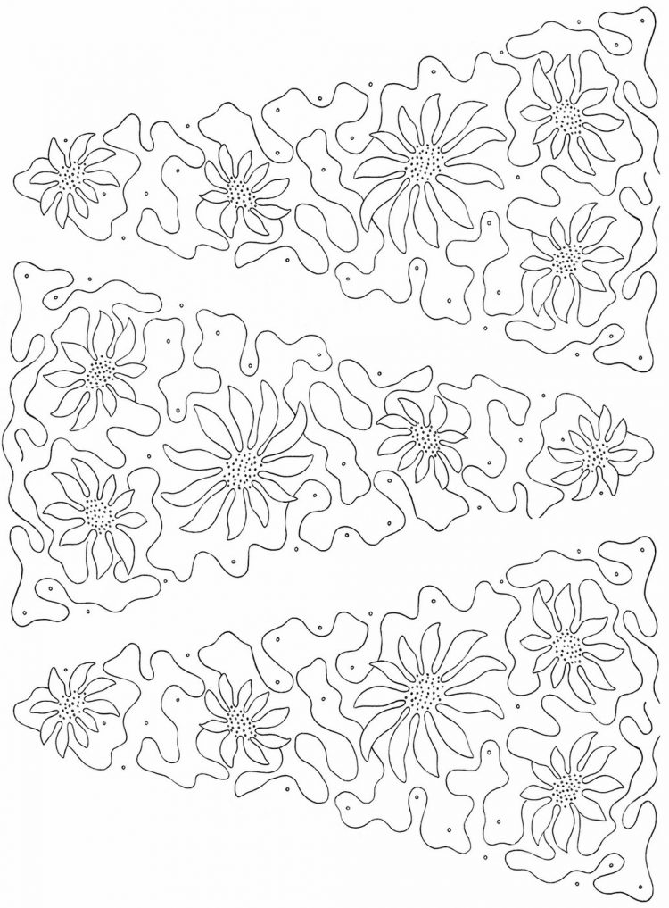 Vintage Christmas embroidery pattern x3