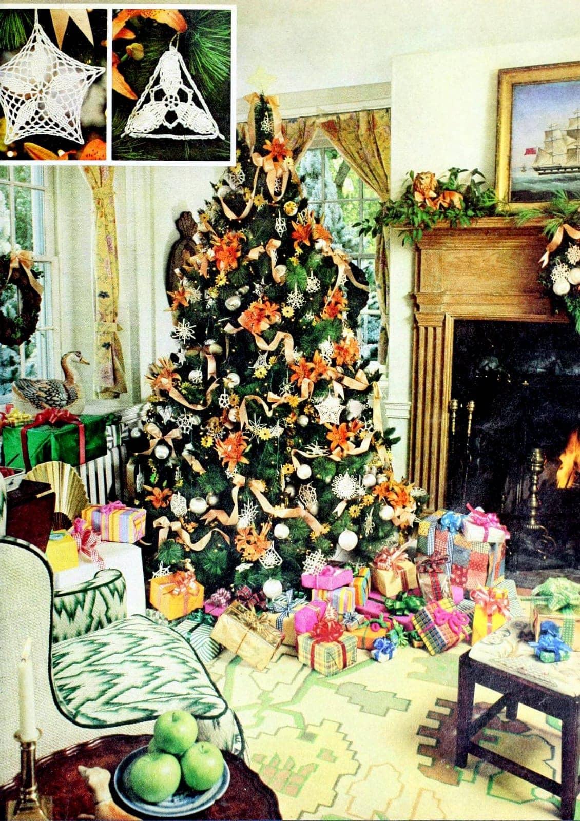 Retro Christmas trees from 1975 (1)