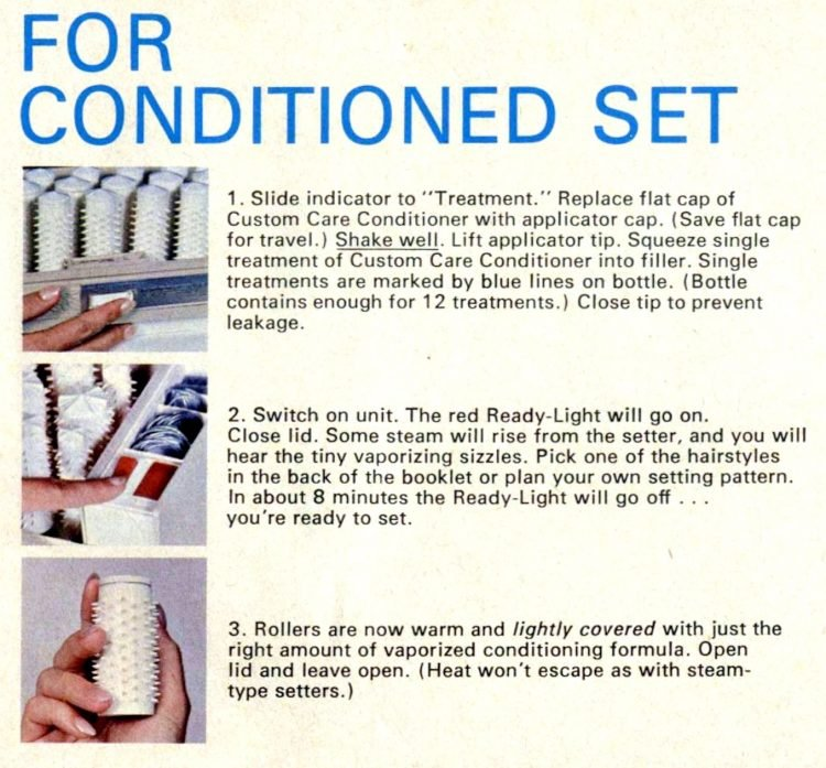 Vintage Clairol Hairsetter instructions (2)