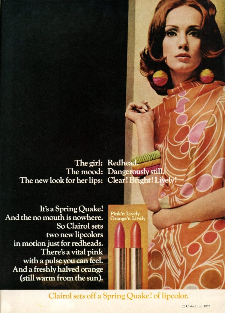 Vintage Clairol lipsticks from 1967 (1)