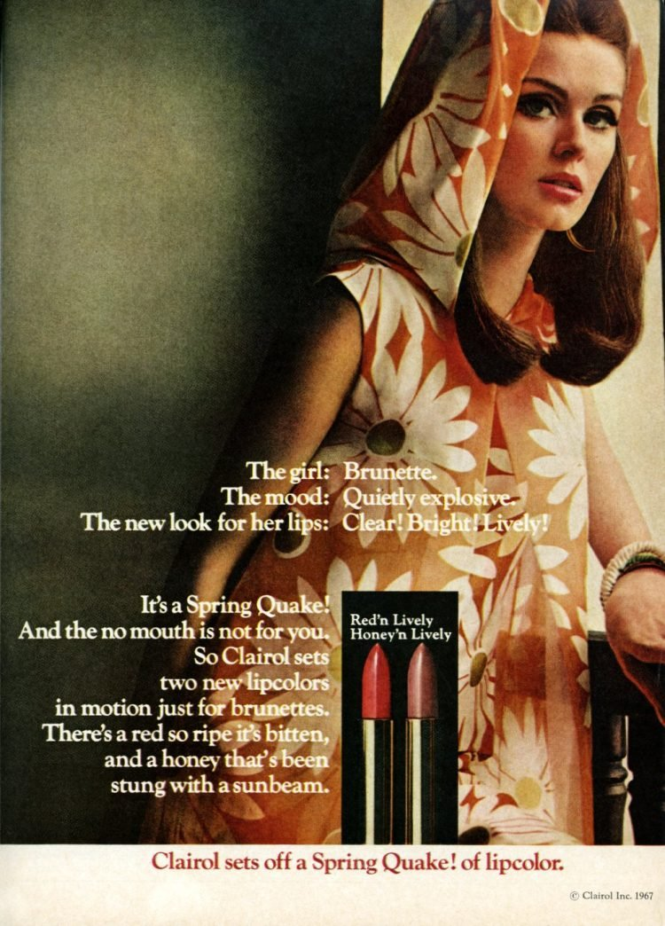 Vintage Clairol lipsticks from 1967 (3)