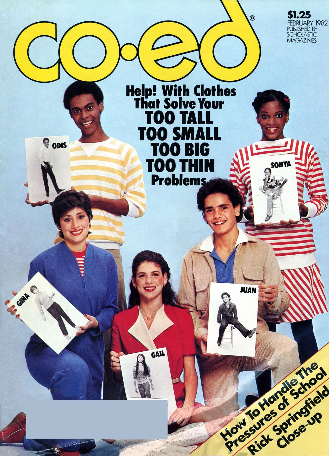 Vintage Co-ed magaizne - Fashions that fit for teens (1982)
