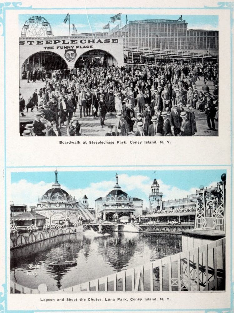 Vintage Coney Island scenes from c1920 (12)