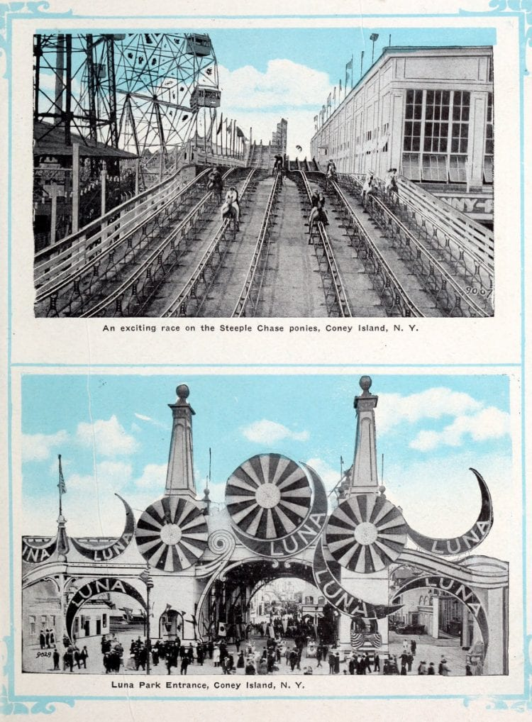 Vintage Coney Island scenes from c1920 (13)