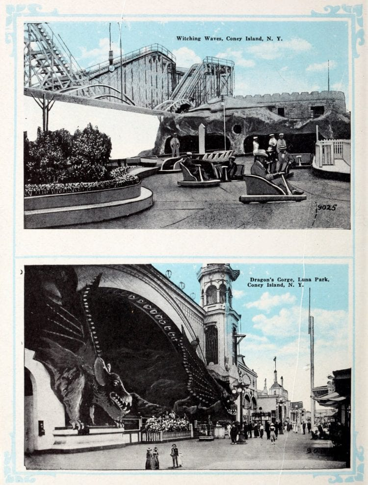 Vintage Coney Island scenes from c1920 (14)