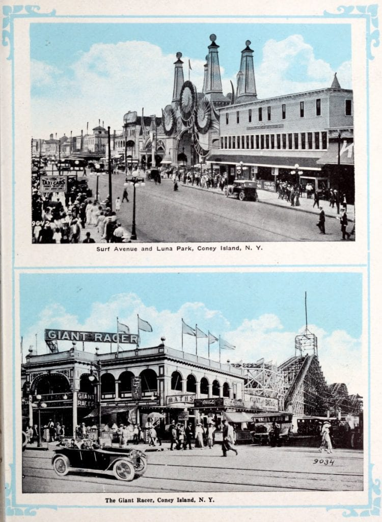 Vintage Coney Island scenes from c1920 (15)