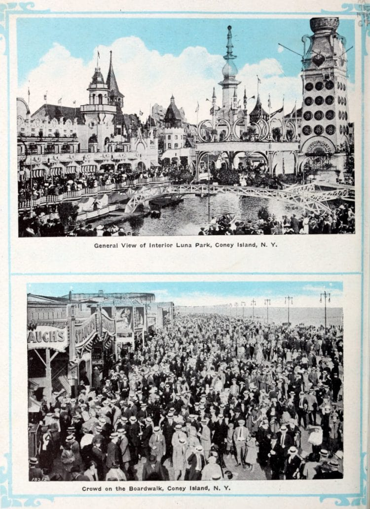 Vintage Coney Island scenes from c1920 (2)