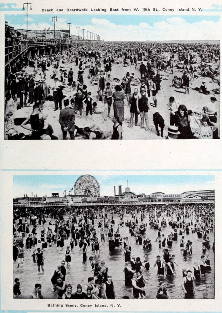 Vintage Coney Island scenes from c1920 (3)