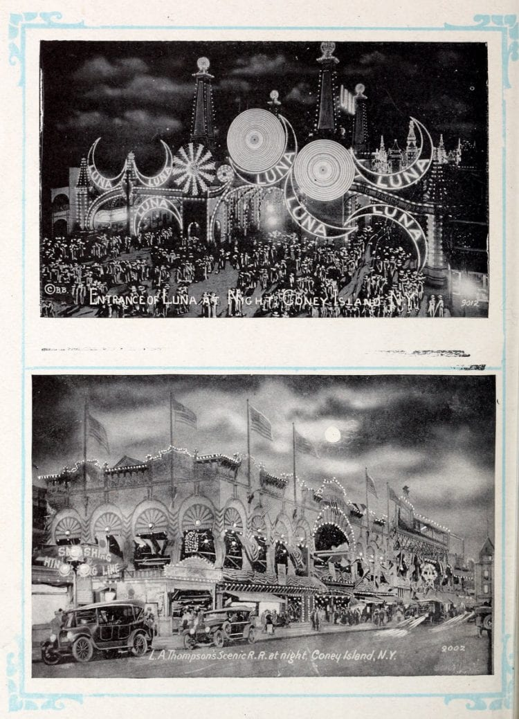 Vintage Coney Island scenes from c1920 (4)