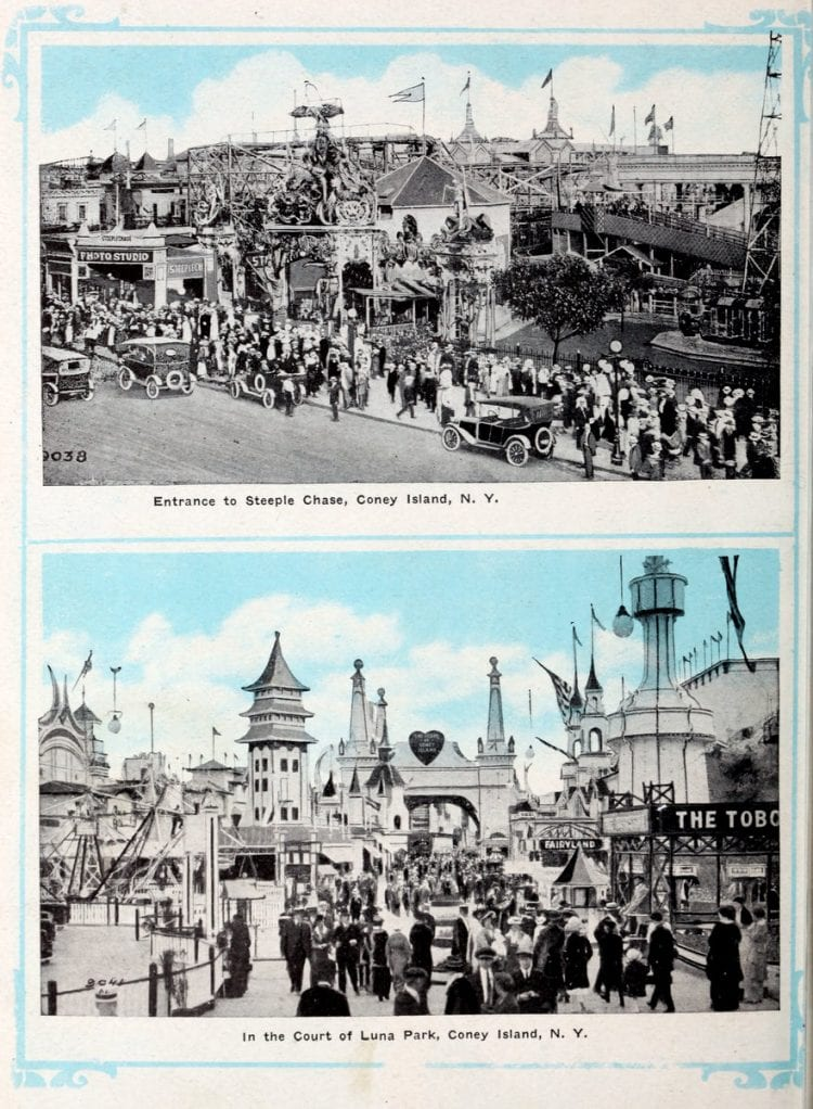 Vintage Coney Island scenes from c1920 (6)