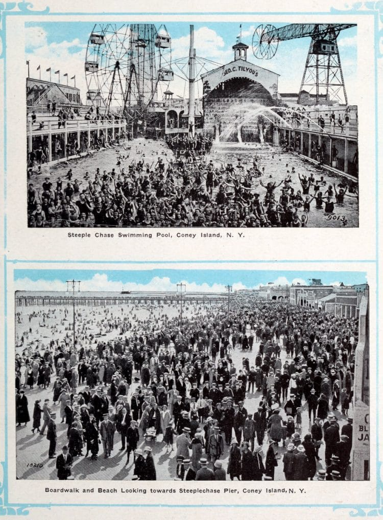 Vintage Coney Island scenes from c1920 (7)