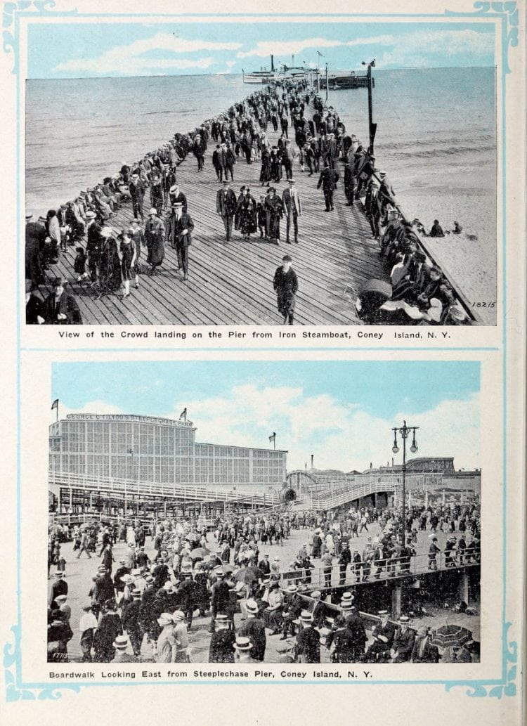 Vintage Coney Island scenes from c1920 (8)
