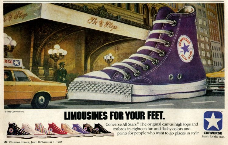 Vintage Converse All-Stars from 1985