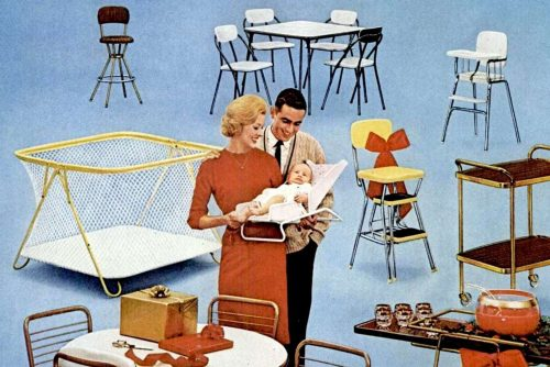 Vintage Cosco home and baby gear (1964)