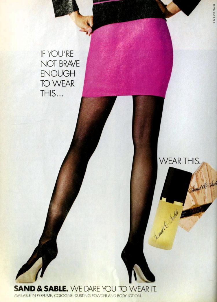 Vintage Coty Sand and Sable perfume - 1987