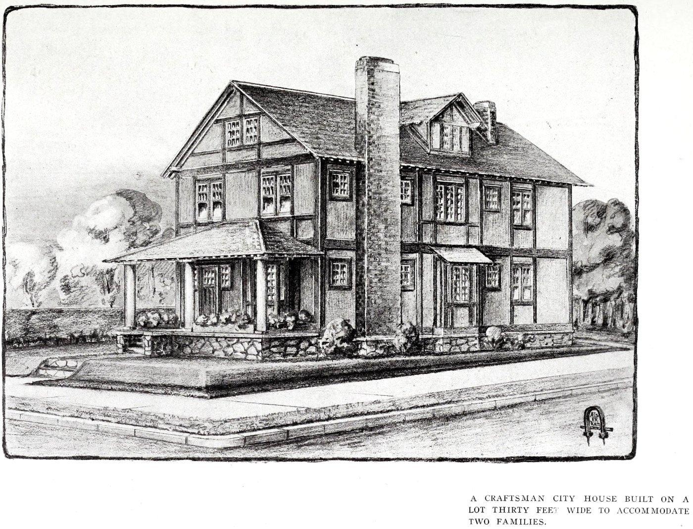 Vintage Craftsman home (2)
