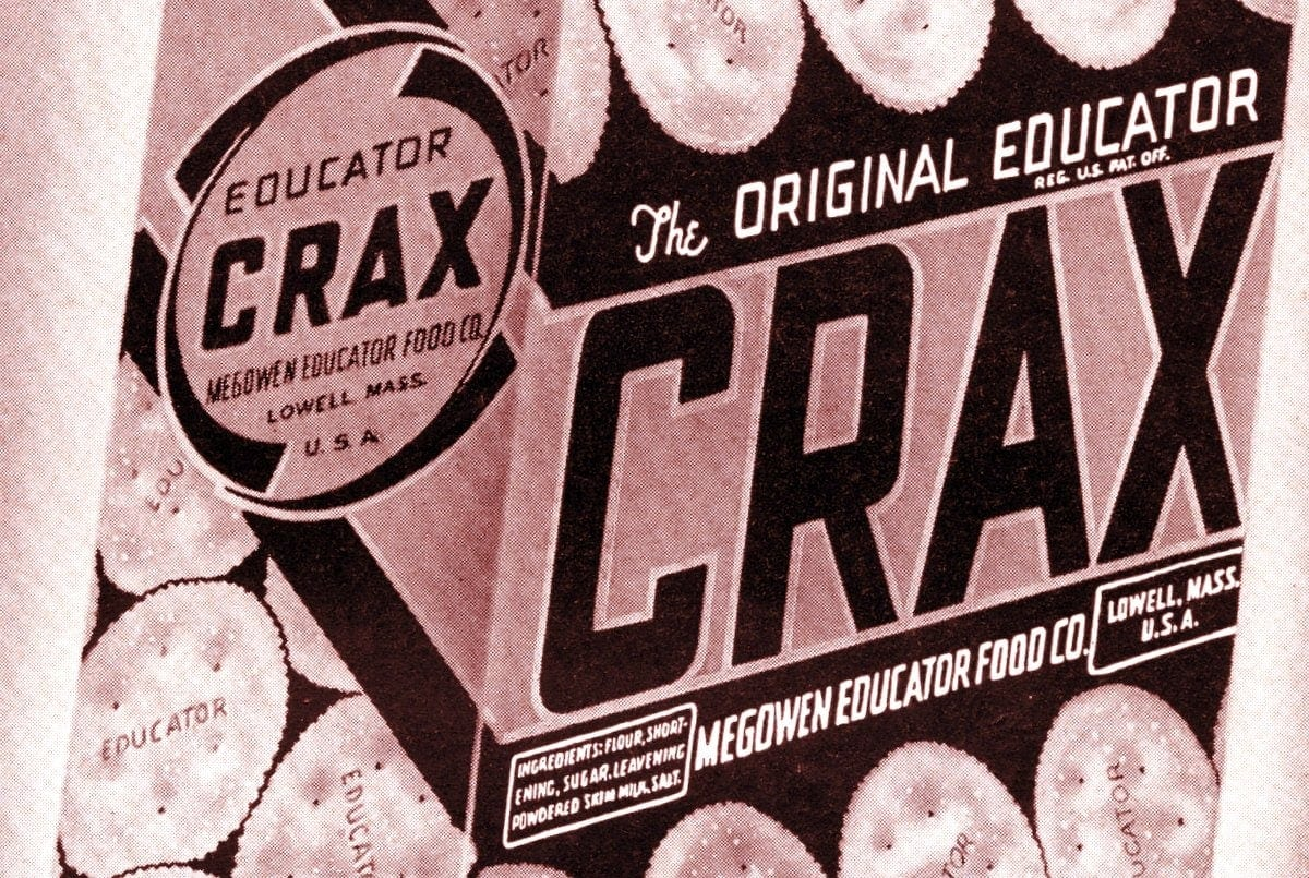 Vintage Crax crackers from the 1950s