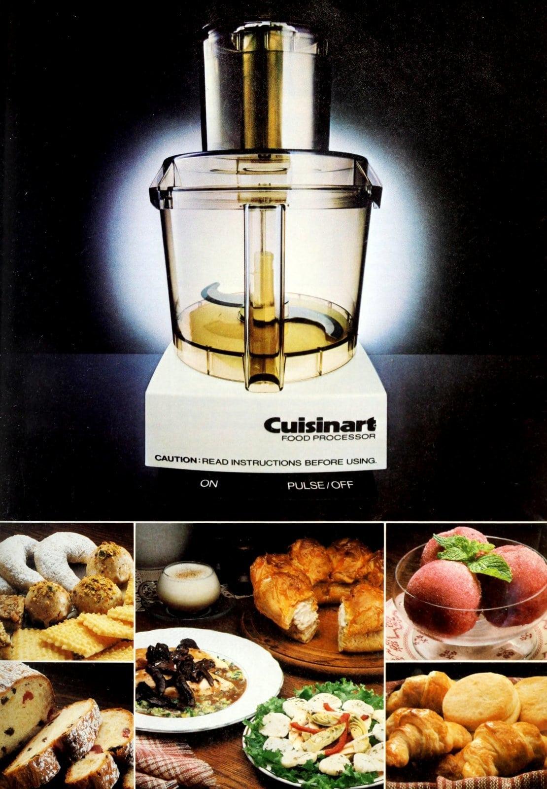 Vintage Cuisinart food processor (1983)