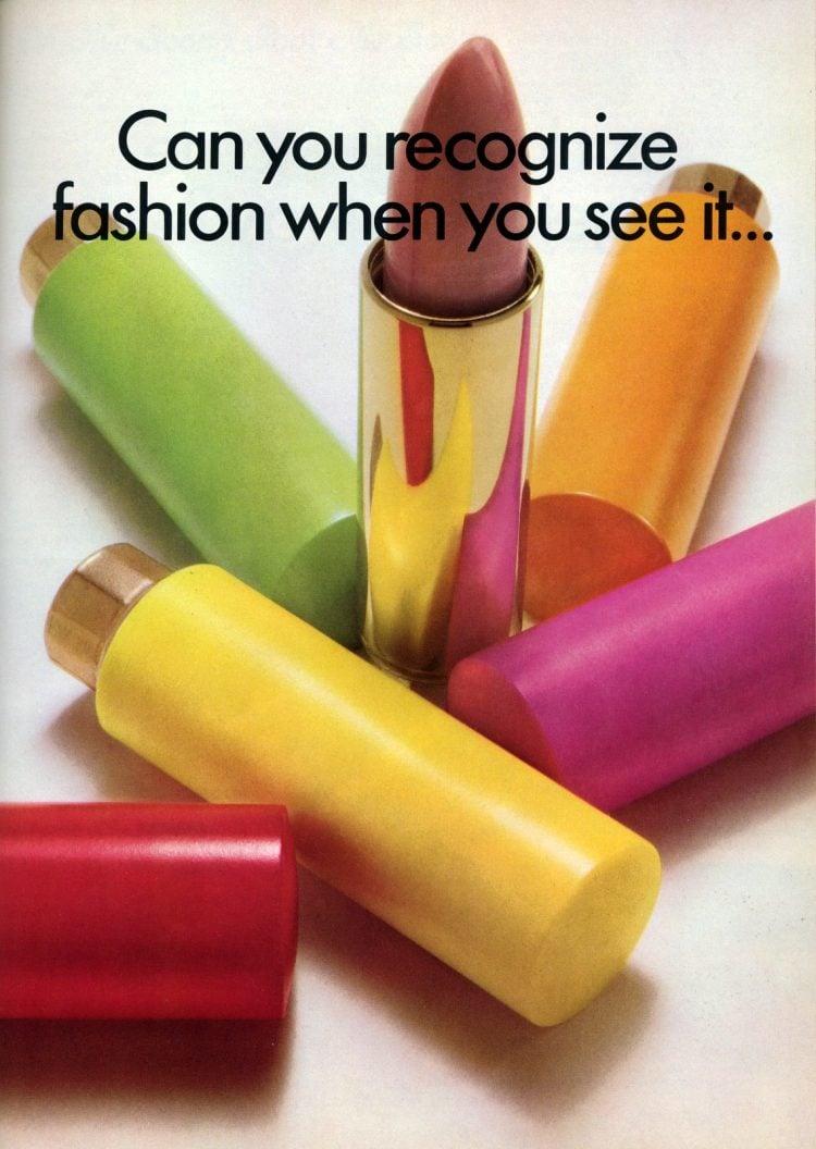 Vintage Cutex lipsticks from 1967 (1)