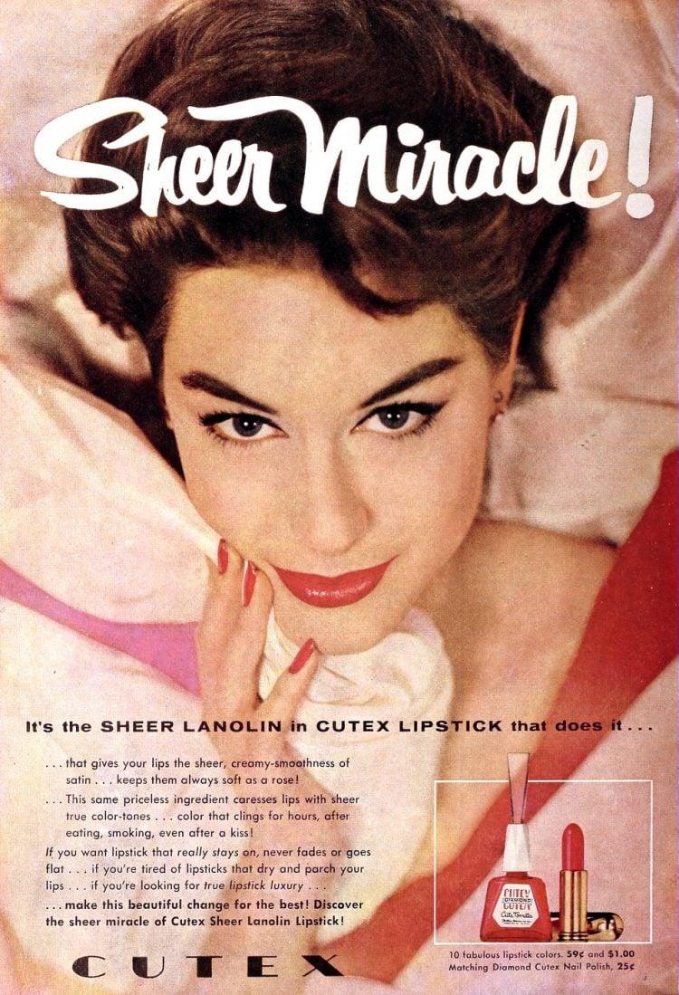 Vintage nail polish - 1956