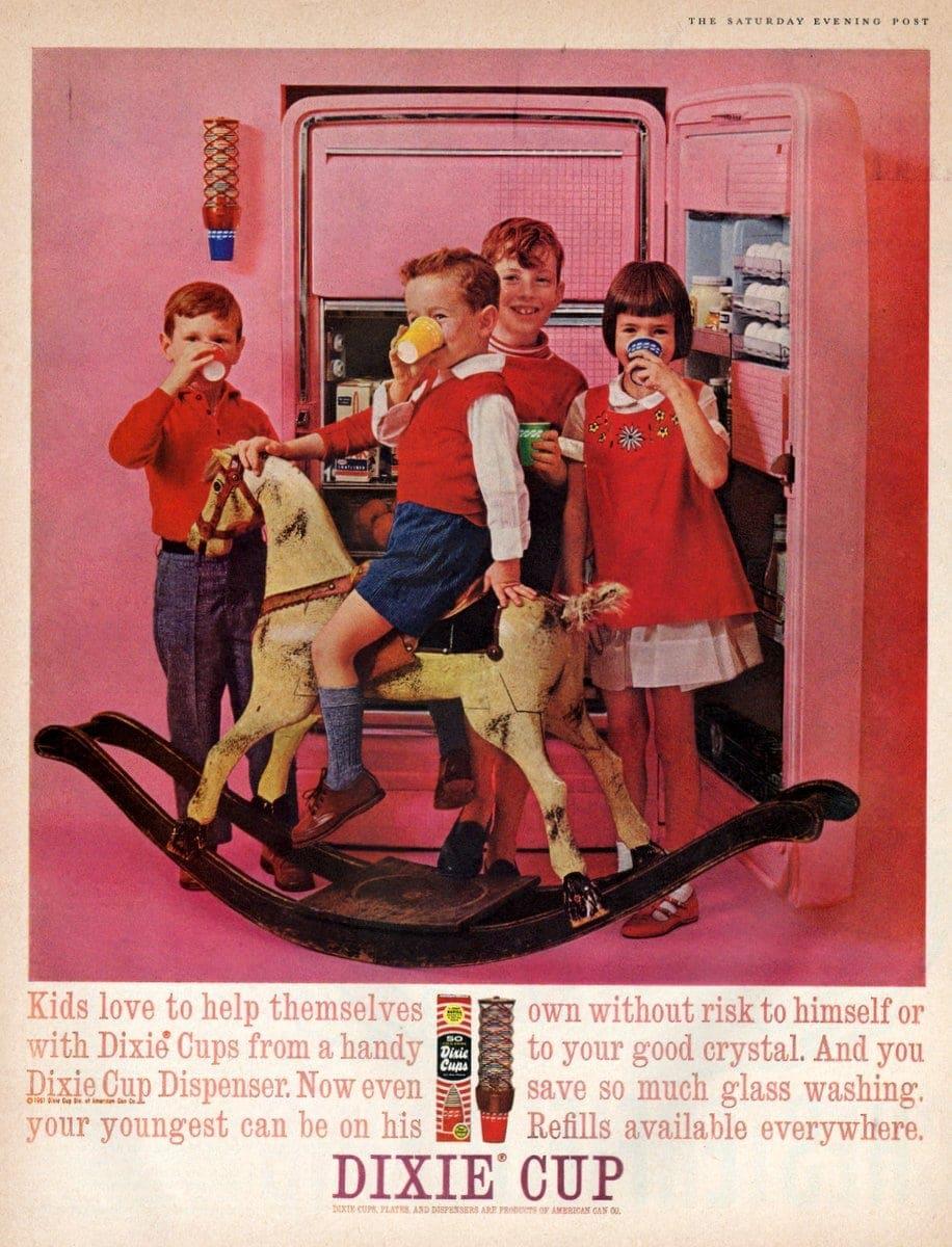 Vintage Dixie cups (1961)