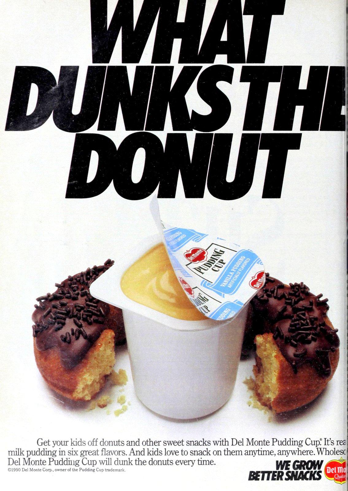 Vintage Del Monte Pudding Cup - Vanilla (1990)