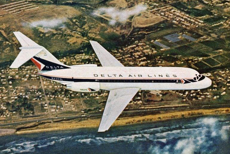 Vintage Delta Airlines