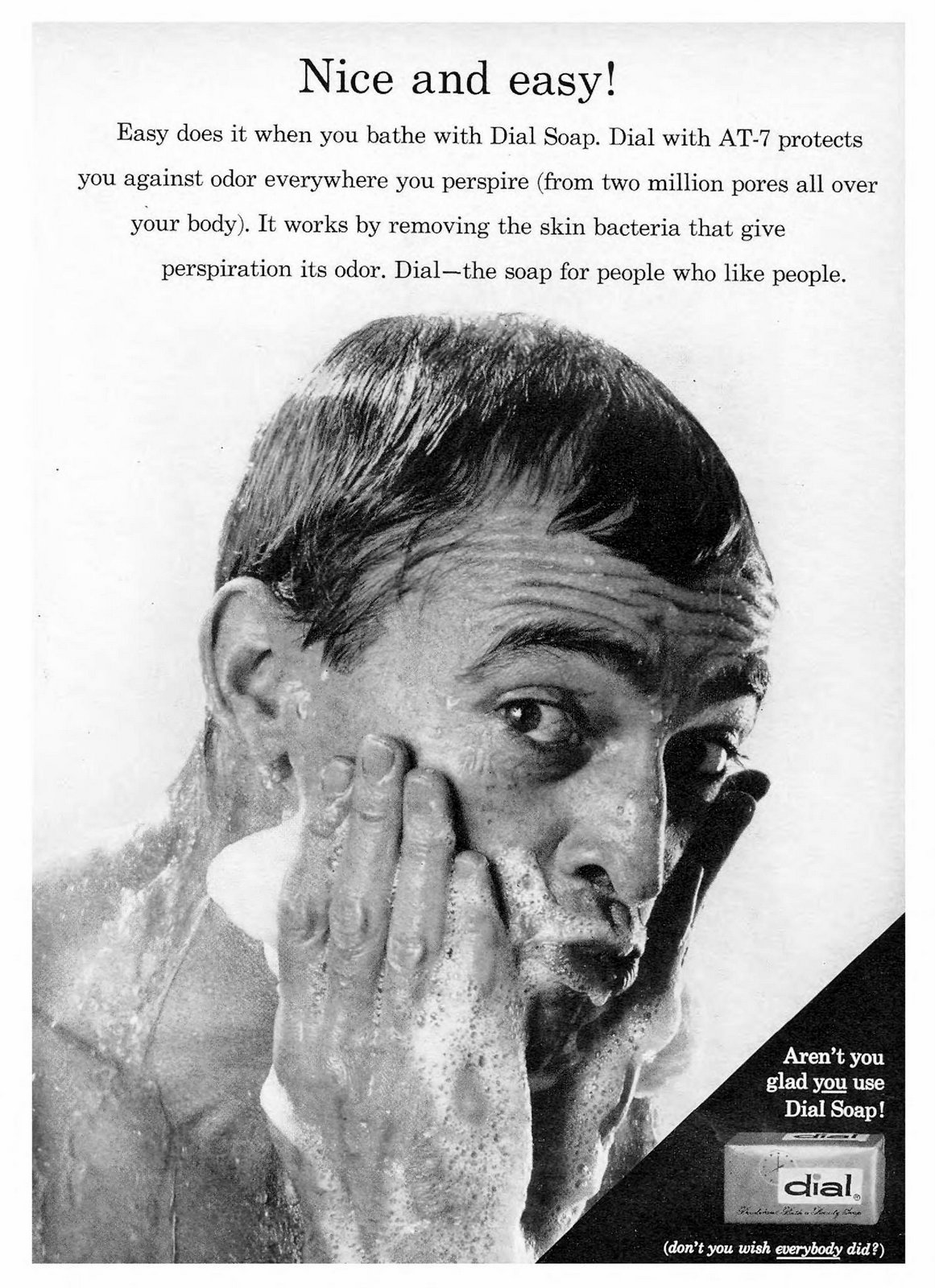 Vintage Dial Soap ad (1960)