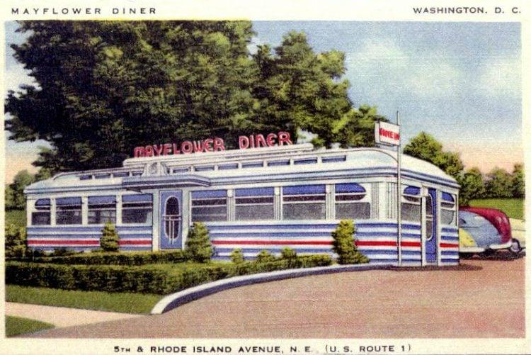 Vintage Diners - Mayflower Diner in Washington DC