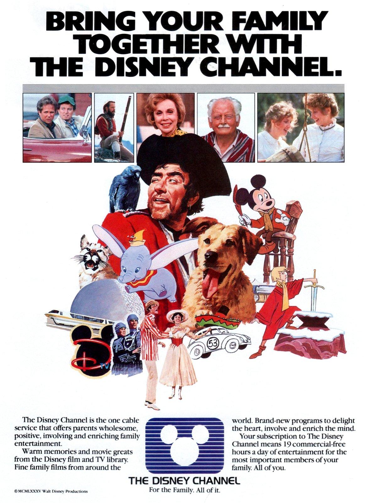 Vintage Disney Channel (1985)