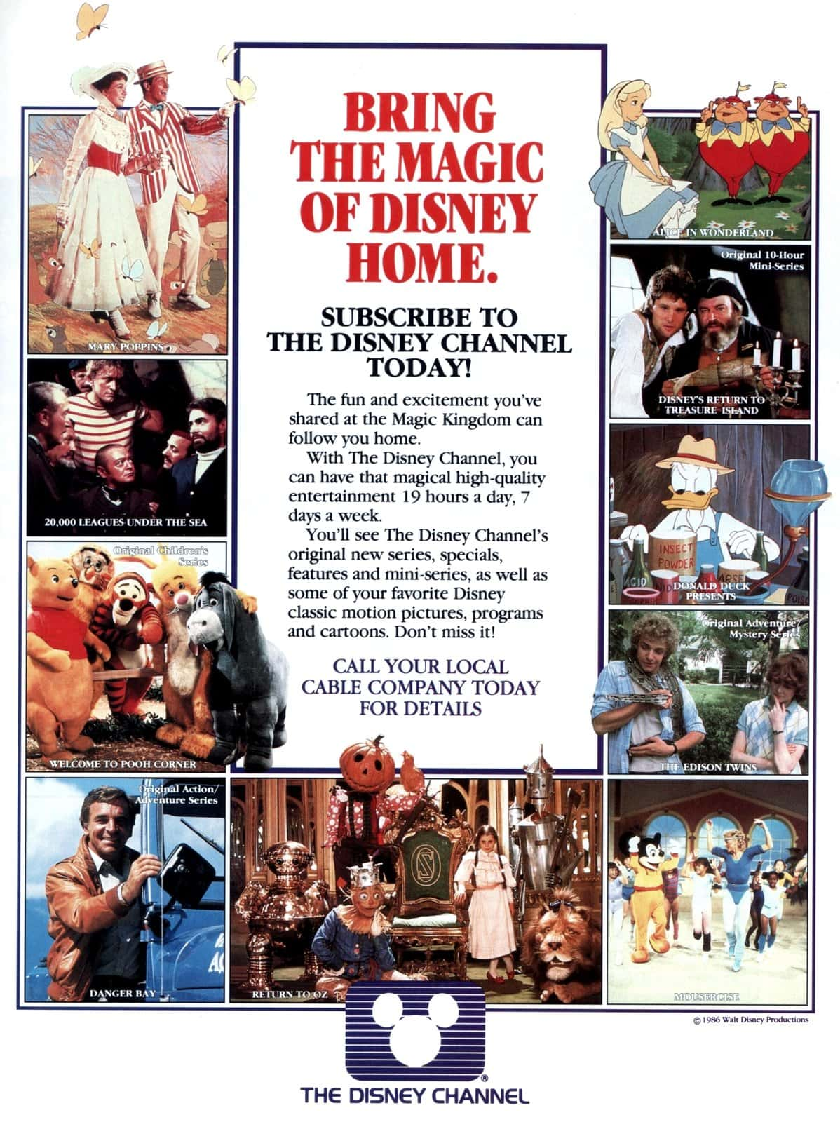 Vintage Disney Channel (1986)