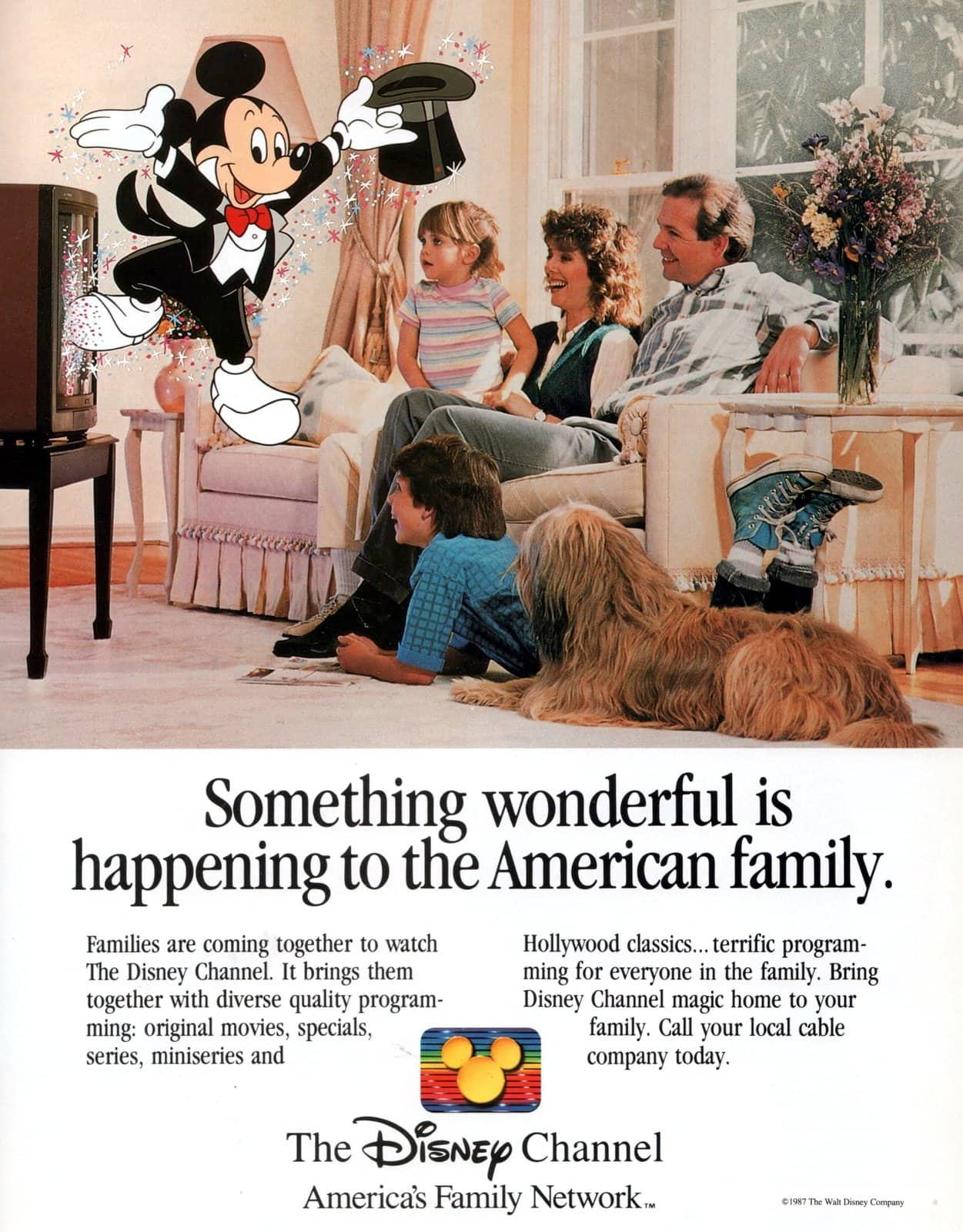 Vintage Disney Channel (1987)